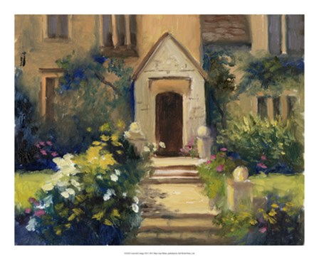 Cotswold Cottage VII by Mary Jean Weber art print