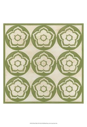 Floral Trellis VII by June Erica Vess art print
