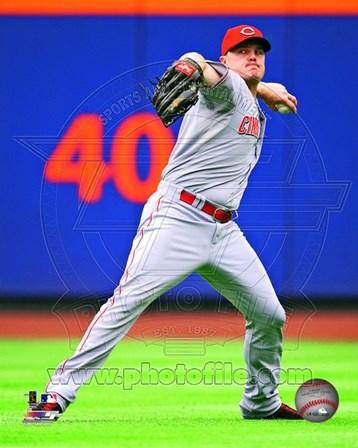 Jay Bruce 2013 Cincinnati Reds art print