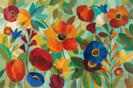 Summer Floral V by Silvia Vassileva art print