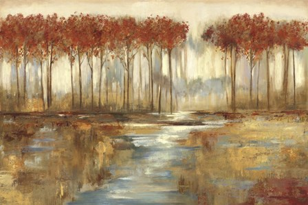 Gracious Landscape by Allison Pearce art print