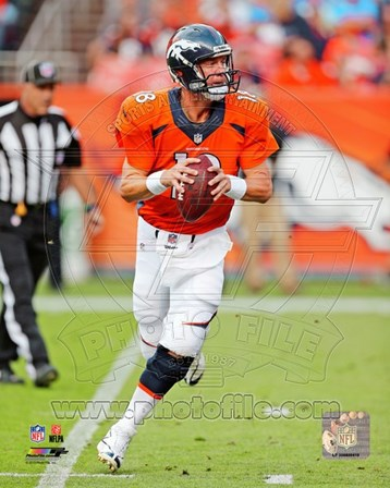 Peyton Manning 2013 Action art print