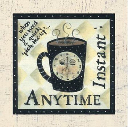 Anytime Instant by Donna Atkins art print