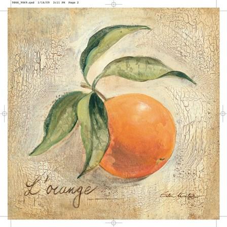 L'Orange by Silvia Vassileva art print