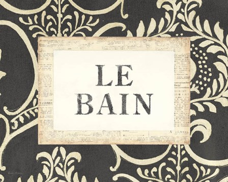 Le Bain by Emily Adams art print
