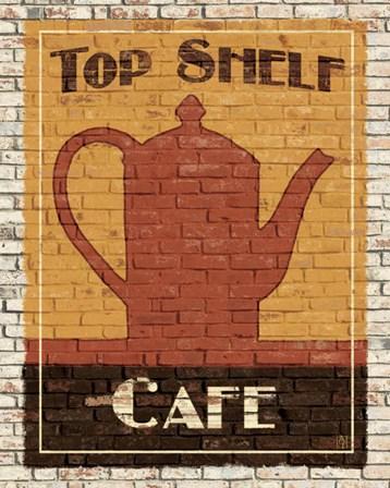Top Shelf Cafe by Avery Tillmon art print