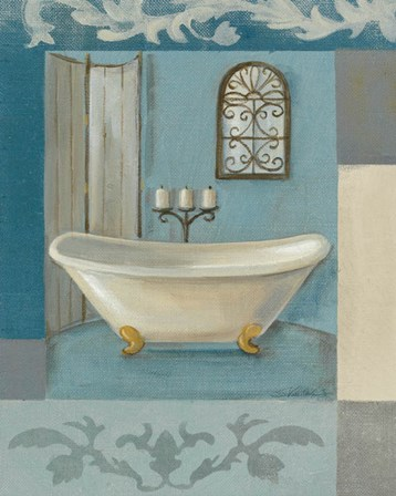 Antique Bath I by Silvia Vassileva art print