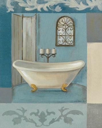 Antique Bath I by Silvia Vassileva art print