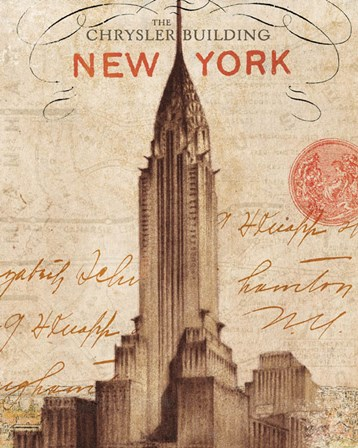 Letter from New York by Wild Apple Portfolio art print
