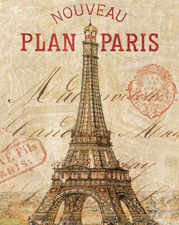 Letter from Paris by Wild Apple Portfolio art print