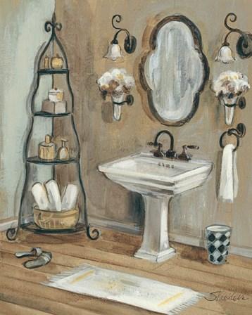 French Bath I by Silvia Vassileva art print