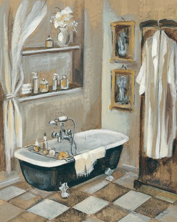 French Bath III by Silvia Vassileva art print