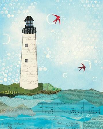 Coastal Notes II by Courtney Prahl art print