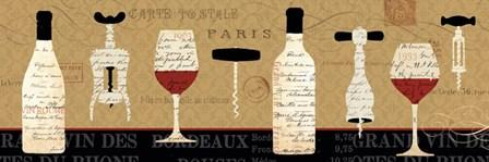 Evening in Paris by Daphne Brissonnet art print