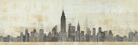 Empire Skyline by Avery Tillmon art print