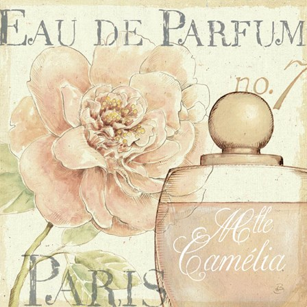 Fleurs and Parfum II by Daphne Brissonnet art print