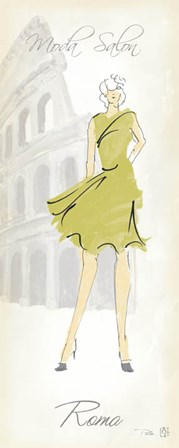 Fashion Lady IV by Avery Tillmon art print