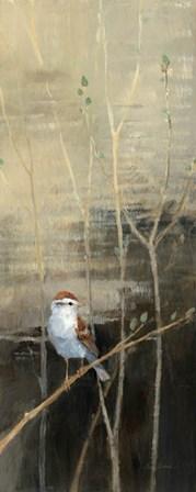 Sparrows at Dusk I by Avery Tillmon art print