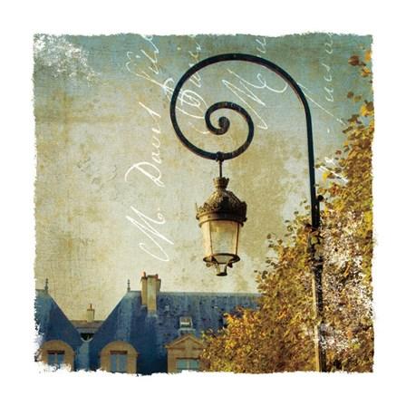 Golden Age of Paris II by Wild Apple Photography art print