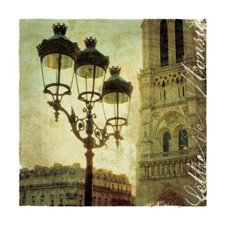 Golden Age of Paris IV by Wild Apple Photography art print