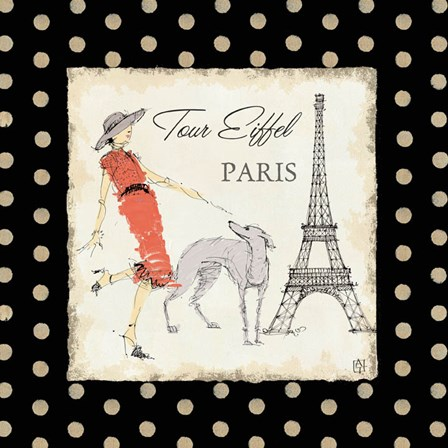 Ladies in Paris II by Avery Tillmon art print
