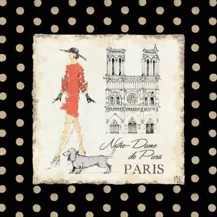 Ladies in Paris IV by Avery Tillmon art print