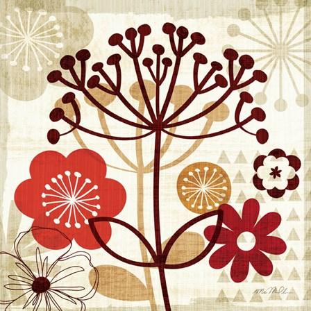 Floral Pop II by Mo Mullan art print