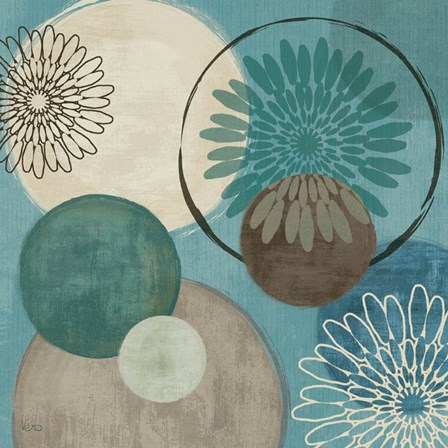 Flora Mood I by Veronique Charron art print