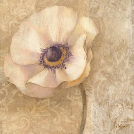 Brocade Poppy by Albena Hristova art print