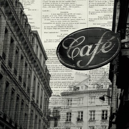 Cafe by Marc Olivier art print