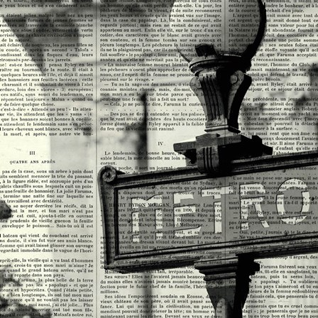 Metro I Crop by Marc Olivier art print