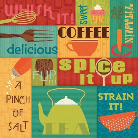 Kitchen It! I by Pela Studio art print