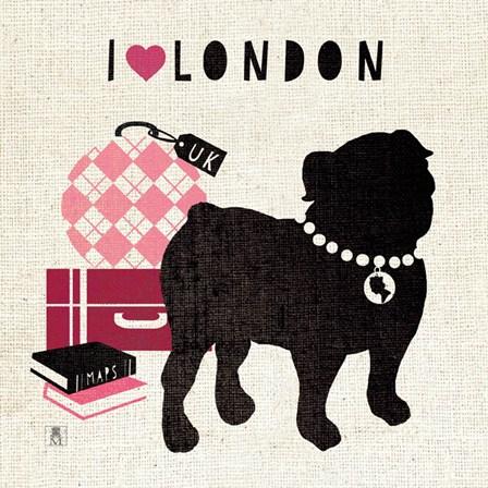 London Pooch by Studio Mousseau art print