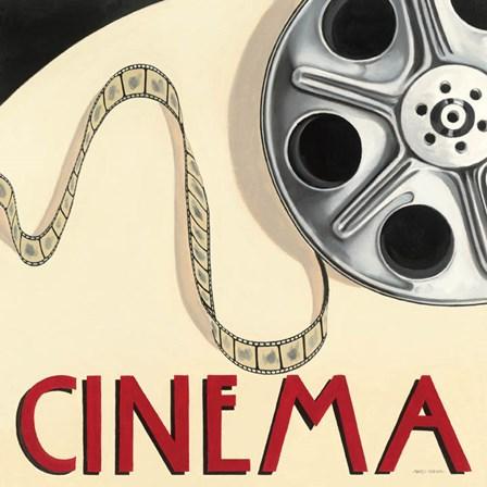 Cinema by Marco Fabiano art print