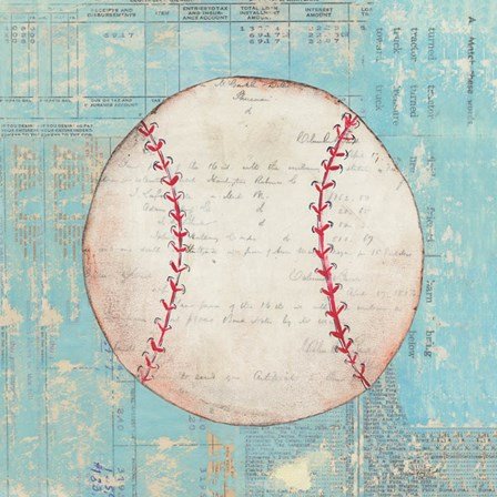 Play Ball I by Courtney Prahl art print