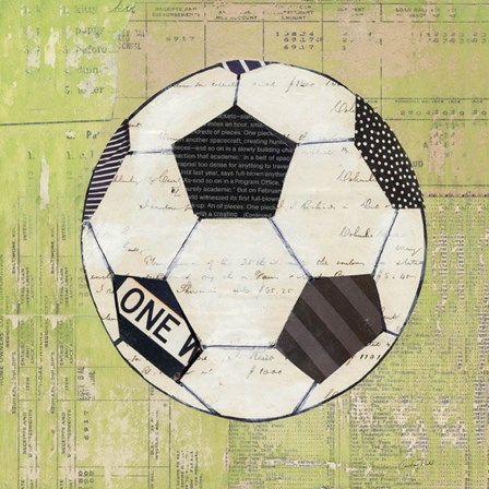 Play Ball III by Courtney Prahl art print