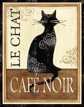 Le Chat by Veronique Charron art print