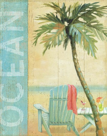 Ocean Beach II by Daphne Brissonnet art print