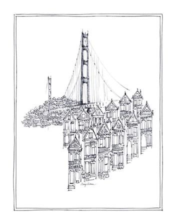 Golden Gate by Avery Tillmon art print