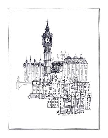 Big Ben by Avery Tillmon art print