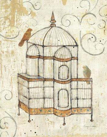 Bird Cage I by Avery Tillmon art print