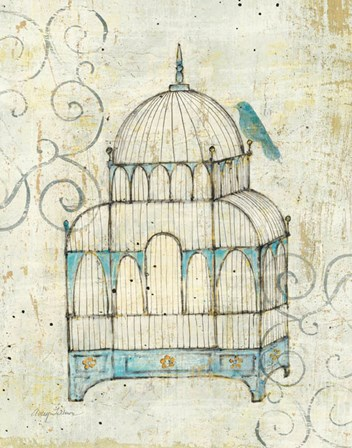 Bird Cage II by Avery Tillmon art print