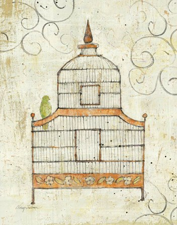 Bird Cage III by Avery Tillmon art print