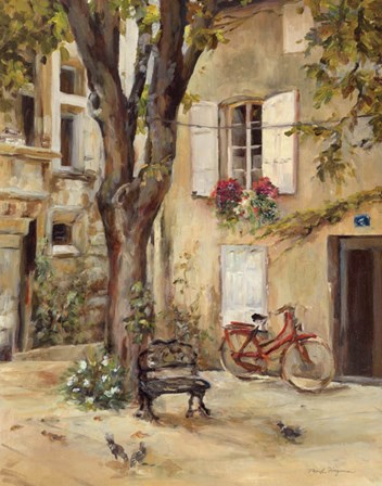 Provence Village I by Marilyn Hageman art print