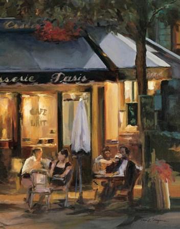 La Brasserie III by Marilyn Hageman art print