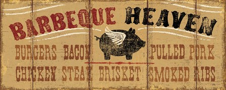 Barbeque Heaven by Pela Studio art print