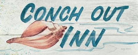 Conch Out Inn by Avery Tillmon art print