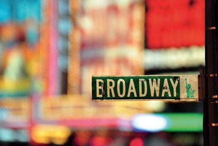 On Broadway by Ben Richard art print