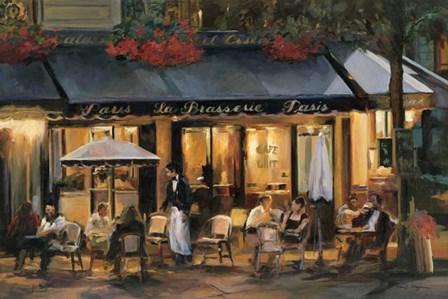 La Brasserie by Marilyn Hageman art print