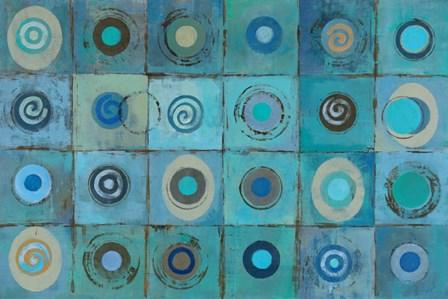 Underwater Mosaic by Silvia Vassileva art print